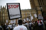 Anti-Slavery Day March To Parliament